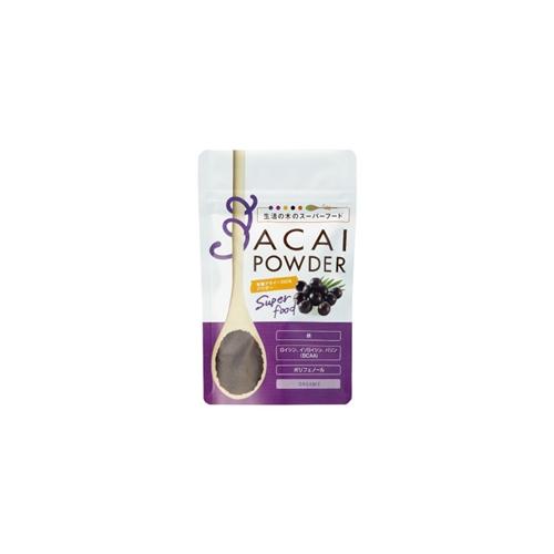 有機アサイー100%パウダー/Organic Acai powder 30g