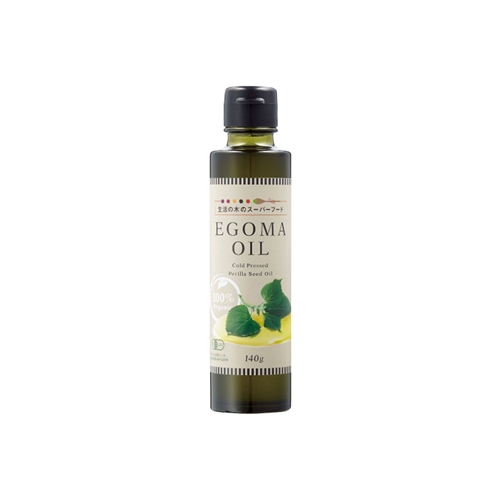 有機エゴマオイル/Organic Perilla seed oil 140g
