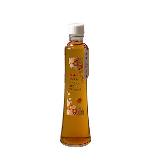 メープルシロップ梅黒酢 300ml(透明ケース入り)