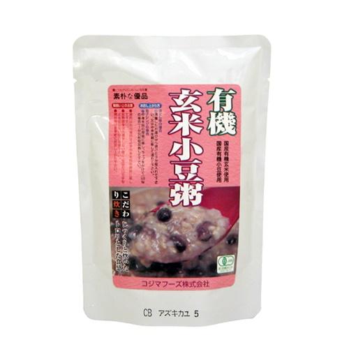 有機玄米小豆粥