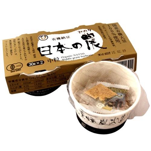 有機納豆 日本の農(みのり)