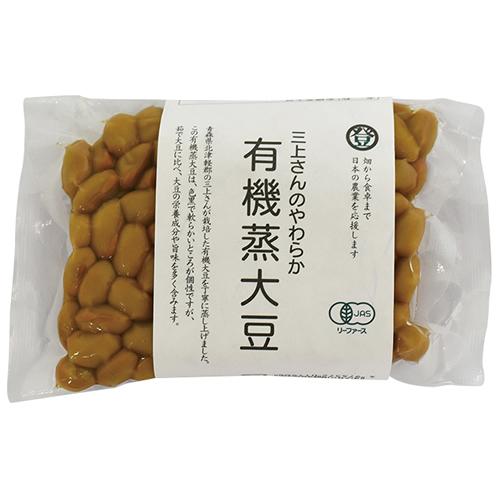 三上さんのやわらか有機蒸大豆