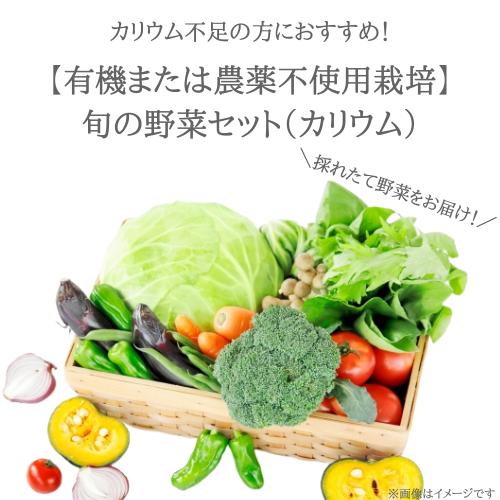 カリウム不足の方に!旬のお野菜セット(K)